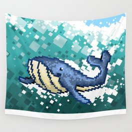 A Whale of a Time Wall Tapestry