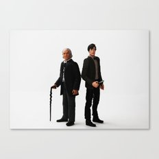 The Two Doctors Canvas Print