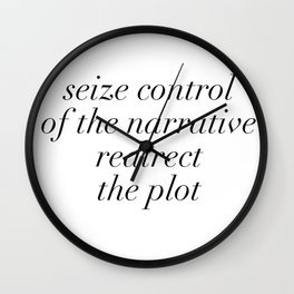 redirect the plot Wall Clock