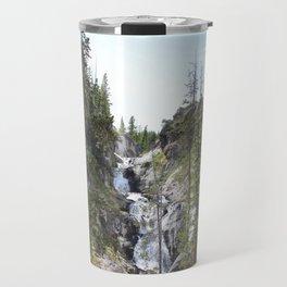 Yellowstone Waterfall Travel Mug