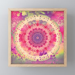 Anenome Mandala Framed Mini Art Print