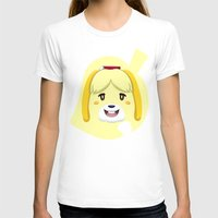 animal crossing T-shirts featuring Animal Crossing Isabelle by ZiggyPasta