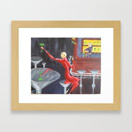 Selfabration Framed Art Print