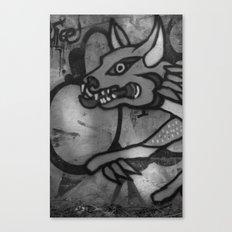 Garuda Dog Canvas Print