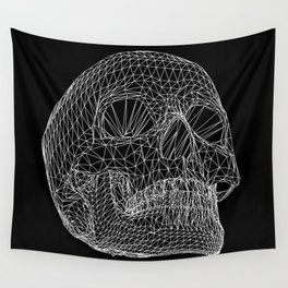 Vector Skull Wall Tapestry