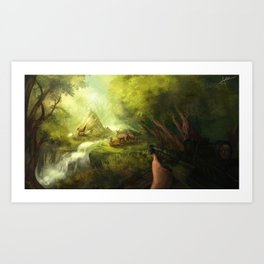 Deer Season Art Print