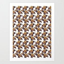 Dogs Flyleaf Art Print