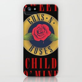 guns n roses album 2020 ansel5 iPhone Case