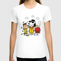 peanuts T-shirts featuring Breaking Peanuts by Maioriz Home