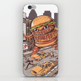 Burgerzilla iPhone Skin