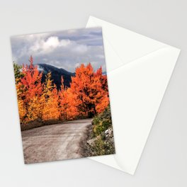Autumn Mountain Road Stationery Cards