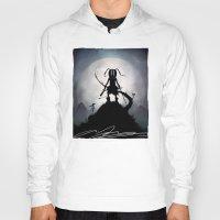 skyrim Hoodies featuring Skyrim Kid by Andy Fairhurst Art