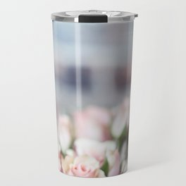ROSES - PINK - PHOTOGRAPHY - FLOWERS Travel Mug