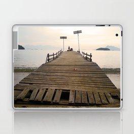 Waiting in Paradise Laptop & iPad Skin