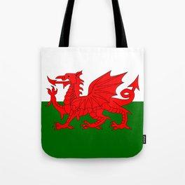 Welsh Dragon Flag Tote Bag
