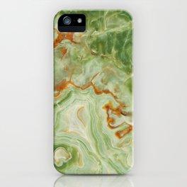 Green Onyx iPhone Case