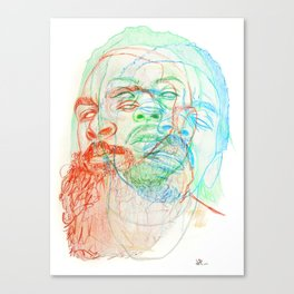The Glorious Dead Canvas Print