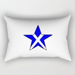 flag of scotland 8– scotland,scot,scottish,Glasgow,Edinburgh,Aberdeen,dundee,uk,cletic,celts,Gaelic Rectangular Pillow