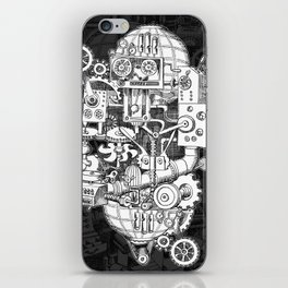 Hungry Gears iPhone Skin