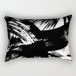 Brush Strokes Rectangular Pillow