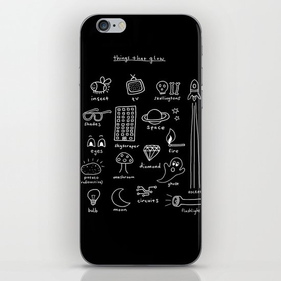 Things that Glow iPhone & iPod Skin