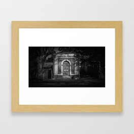The Christchurch Electricity Substation Project I Framed Art Print
