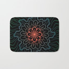 Flower Bloomer Bath Mat