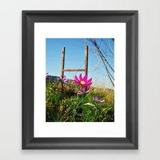 FlowerWork Framed Art Print
