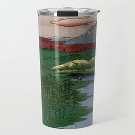 Noge and Yokohama by Hiroshige Travel Mug