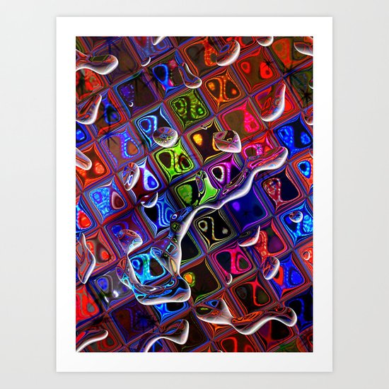 A touch of Morocco by Nico Bielow Art Print