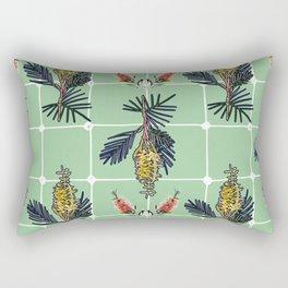 Beautiful Australian Native Flower Pattern Rectangular Pillow