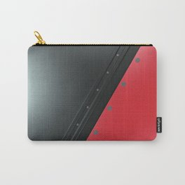 Colored plate with rivets Carry-All Pouch