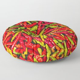 Hot Chili Peppers Floor Pillow