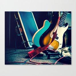 Guitars at Rest Canvas Print