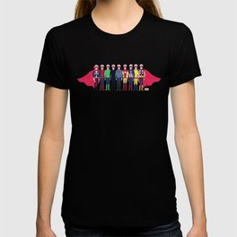 Stan Lee Comic Characters T-shirt
