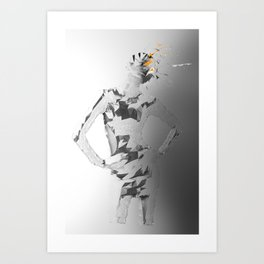 E²_ Art Print