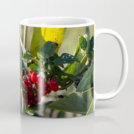 Milk weed and red berries Coffee Mug