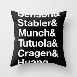SVU Throw Pillow