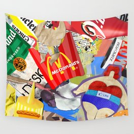 Fast and Fat Wall Tapestry