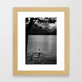Peacefull Progress Framed Art Print