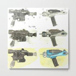 Wars vs. Trek Metal Print