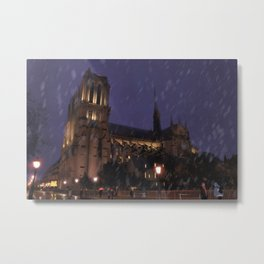 Cathedral Notre-Dame Metal Print