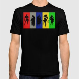 Justice Silhouettes T-shirt