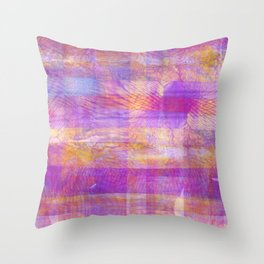 Marbled Patchwork Throw Pillow