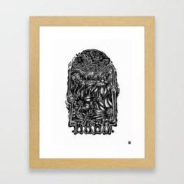 Bobo Classic Framed Art Print