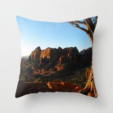 Top Of Merry-Go-Round Throw Pillow