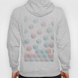 Pastel Isometric Rain Hoody