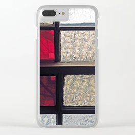 Window Glass Clear iPhone Case