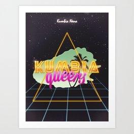 Kumbia queers Art Print