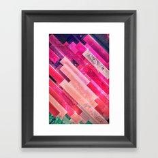 cymfyrt zwwn Framed Art Print